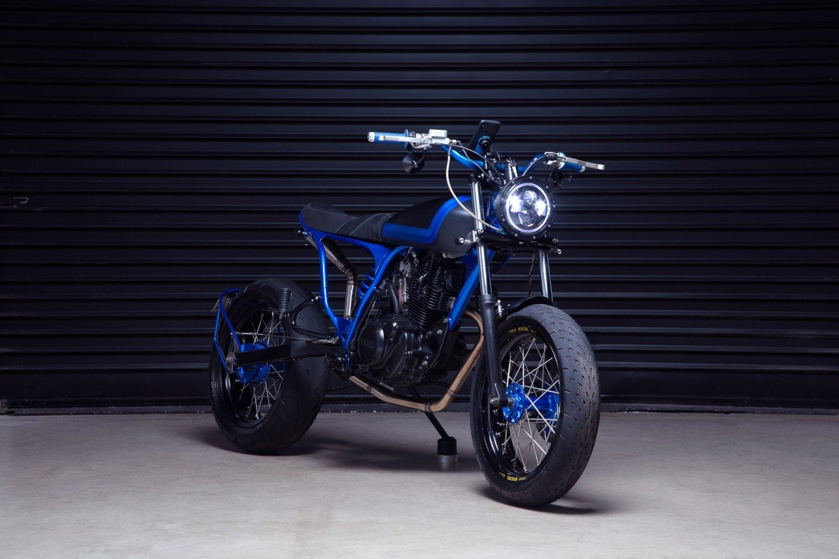 TW200 tracker custom motorycles gold coast