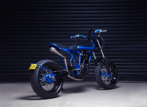 Yamaha Custom TW200 Street Tracker