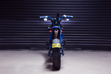 Yamaha custom motorcycle TW200 tracker