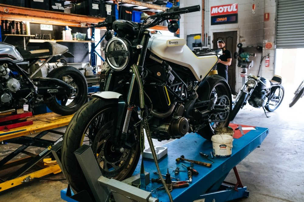 Husqvarna Project by Purpose Built Moto