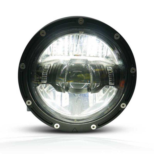 Bright LED Black Premium Headlight