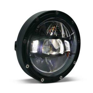 Flashpoint LED Black Premium Motorcycle Headlight