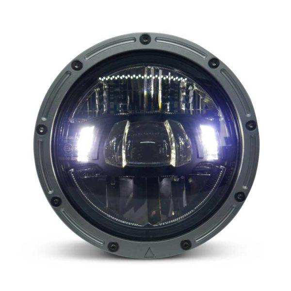 Flashpoint X Raw LED Headlight 5.75'