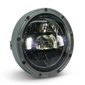 Premium Motorcycle LED Headlight 5'75' Raw