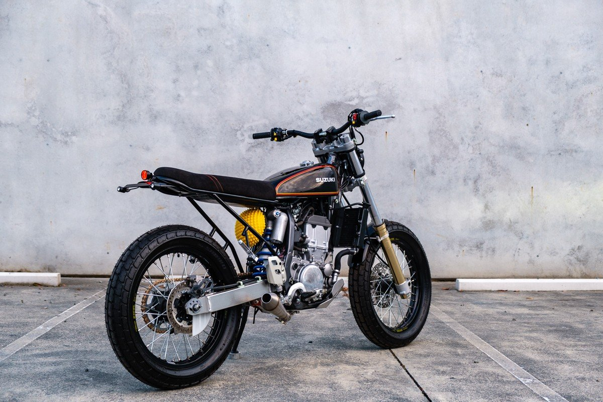 Suzuki DRZ400 Custom Motorcycle