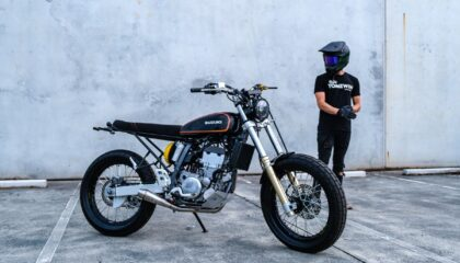 Suzuki DRZ400 Custom Build