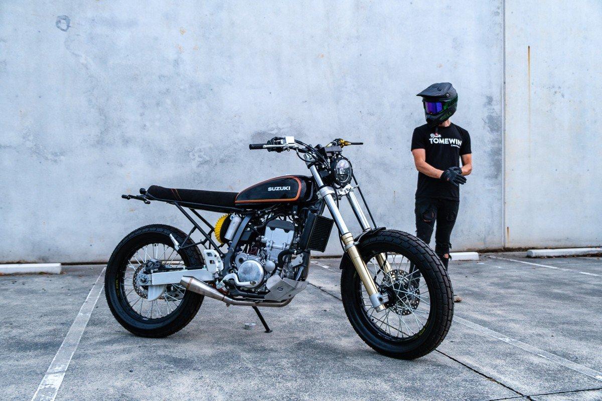 Suzuki DRZ400 Custom Build