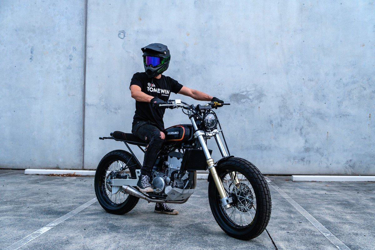 Street Tracker Custom Motorcycle