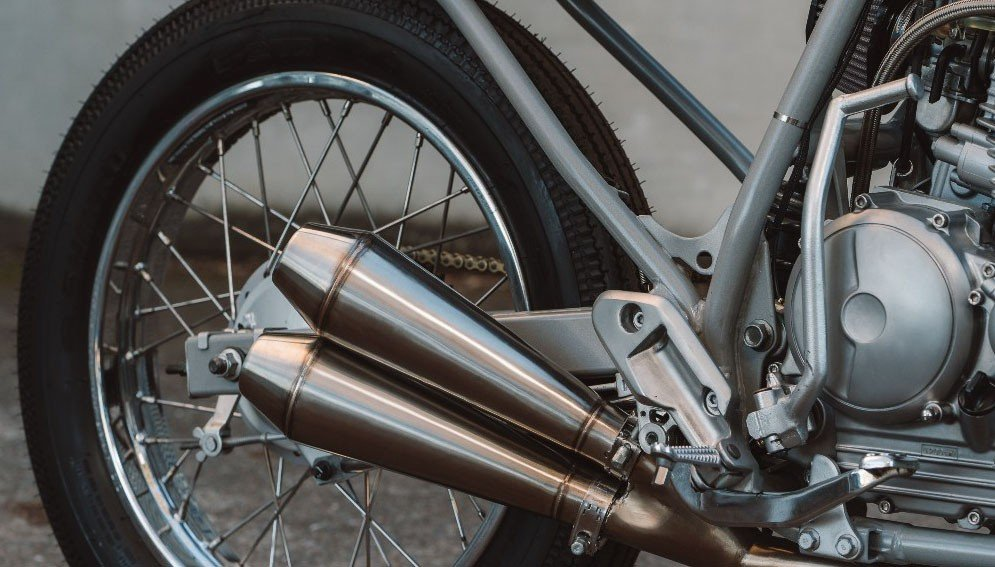 Custom Mufflers for Cafe Racers and Scramblers