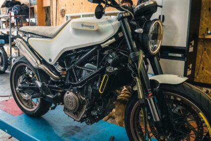 Husqvarna Vitpilen Custom Build