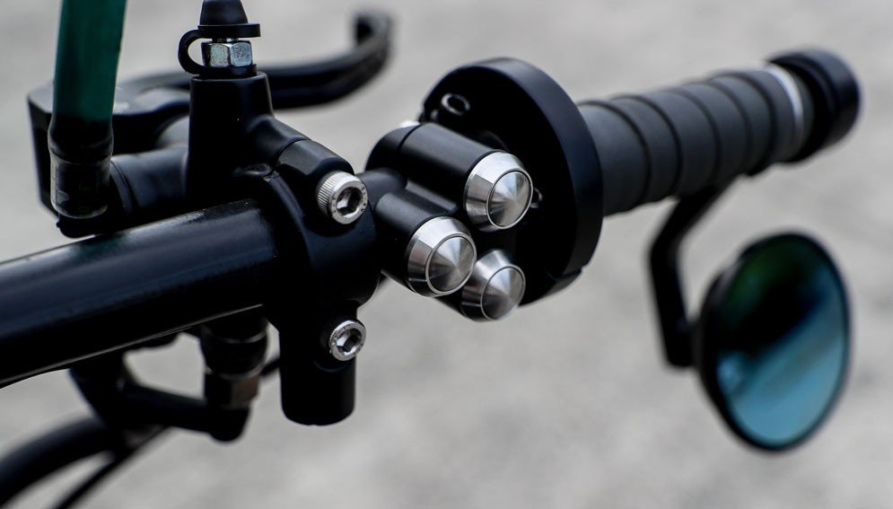 Handlebar Push Button Switches for Motorcycles