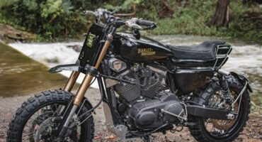 Harley USD fork swap how to