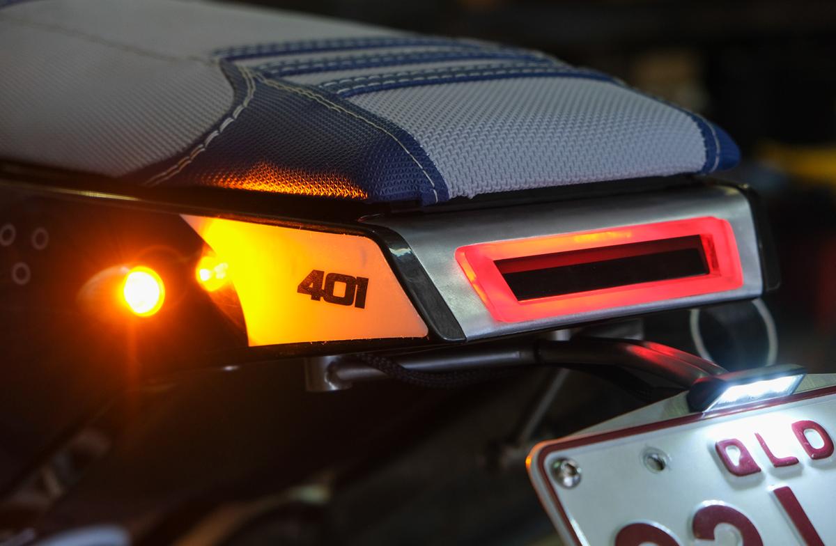 Custom LED Brake Light Street Tracker