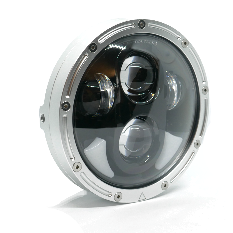 Flashpoint 5.75 Raw Motorcycle Headlight