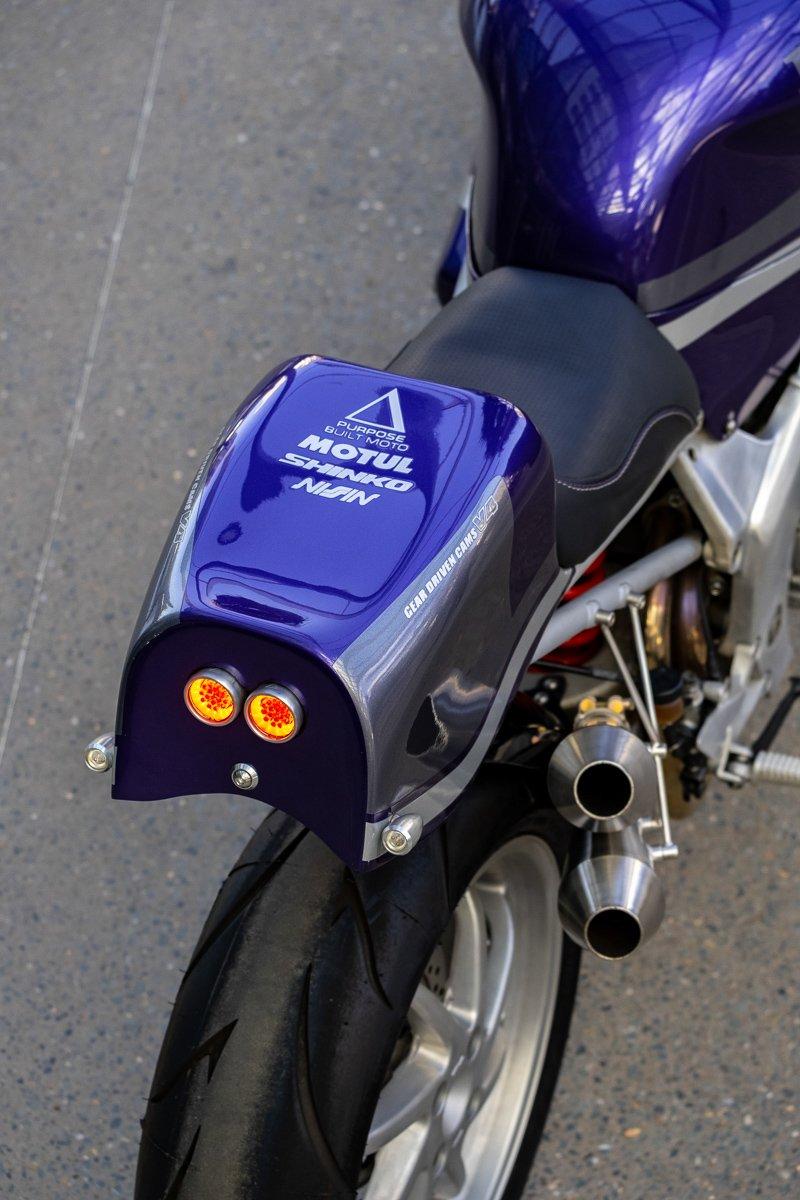 Honda VFR750 custom tail
