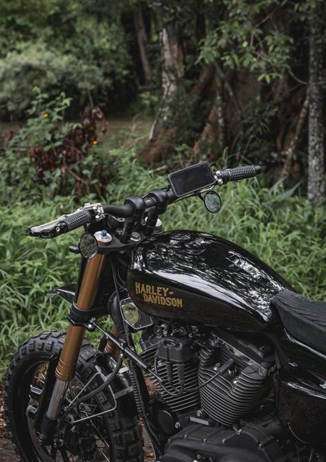 Purpose Built Moto Custom Harley Sportster
