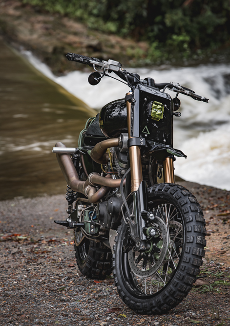 Purpose Built Moto Harley Sportster
