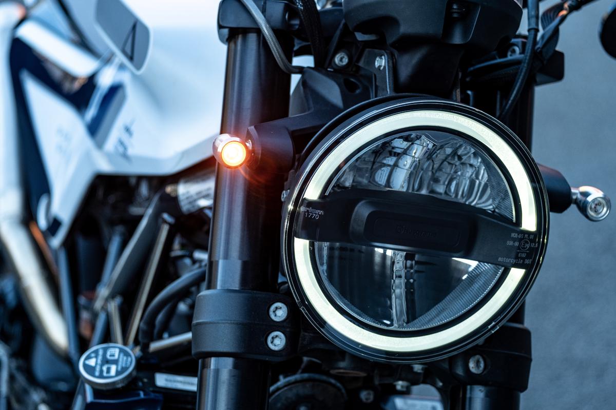 Custom Motorcycle Indicators