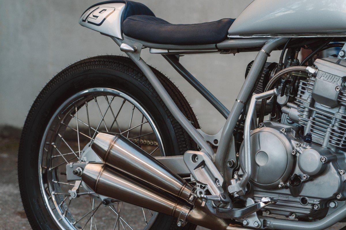 Motorcycle Slip-On Exhaust