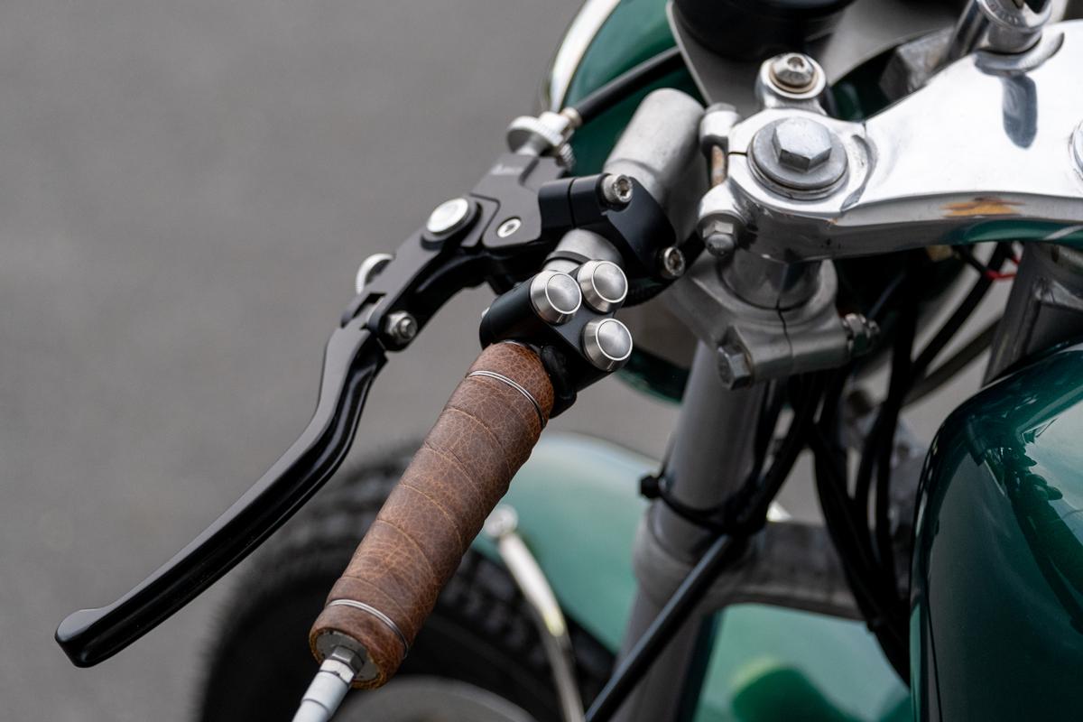 Honda CB400F Switches