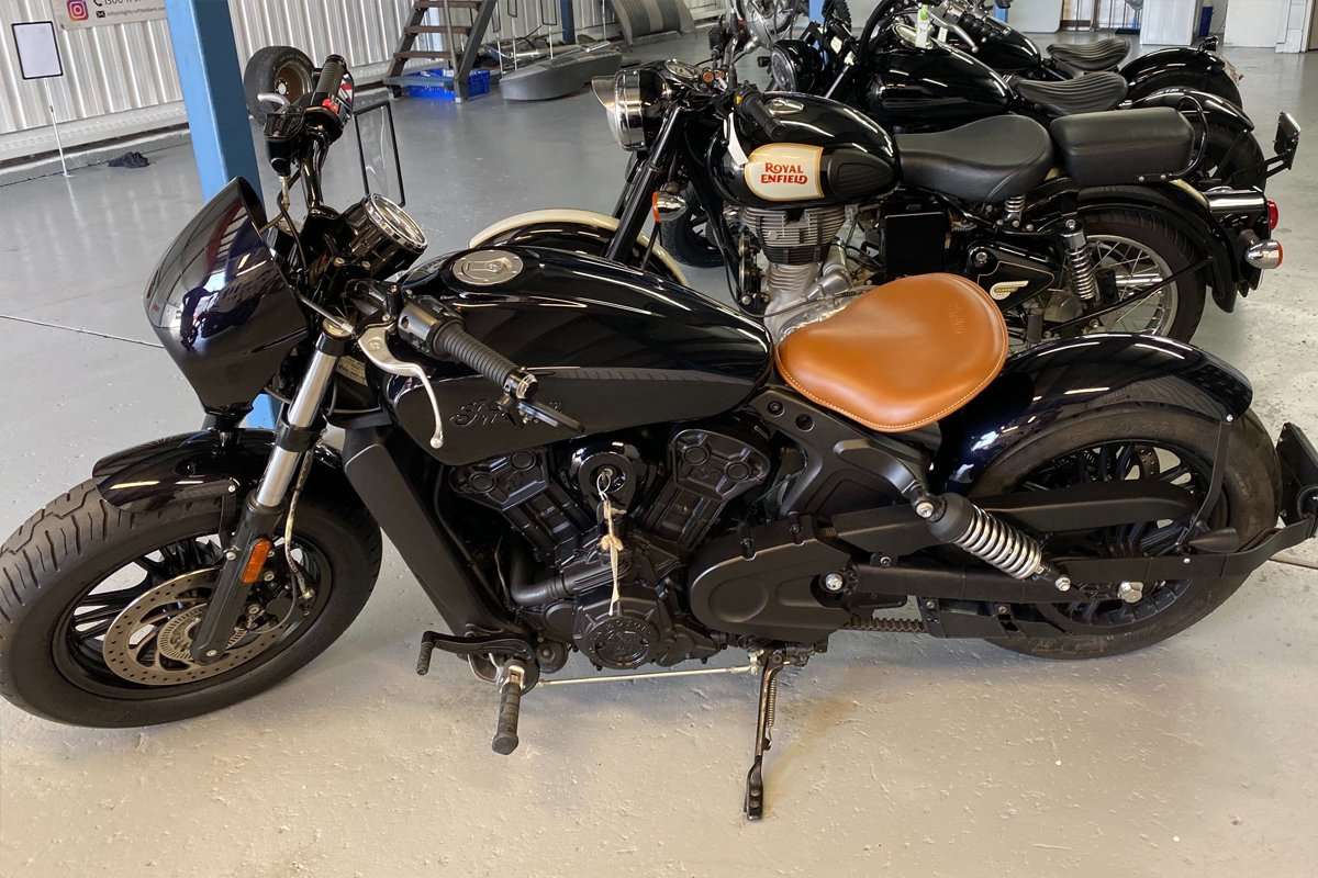 Indian Scout Before Picture