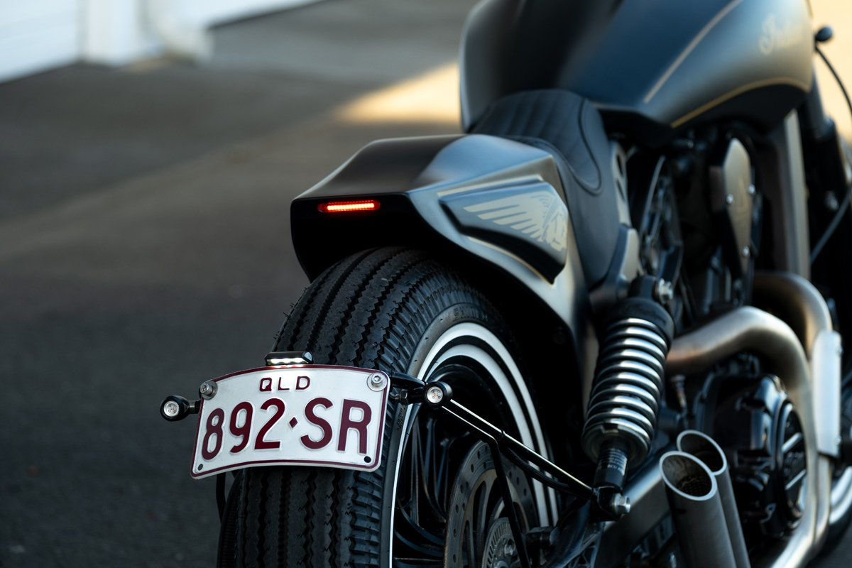 Custom Indian Scout Tail Shape
