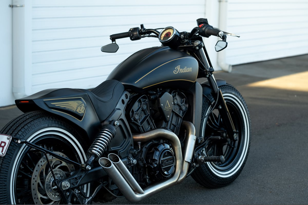 Indian Scout Custom Tail