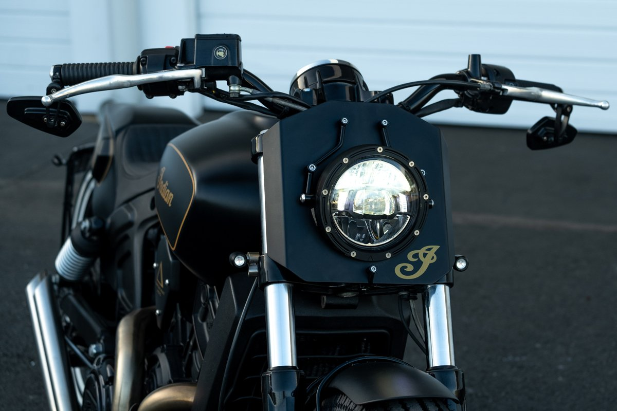 Indian Scout Headlight