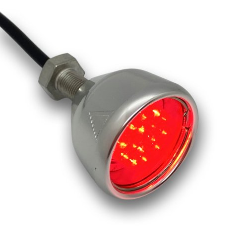 Motorcycle Tail Light Chrome