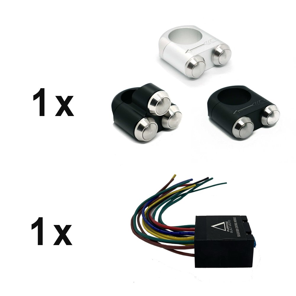 Purpose Built Moto Black Box and One Switch Kit
