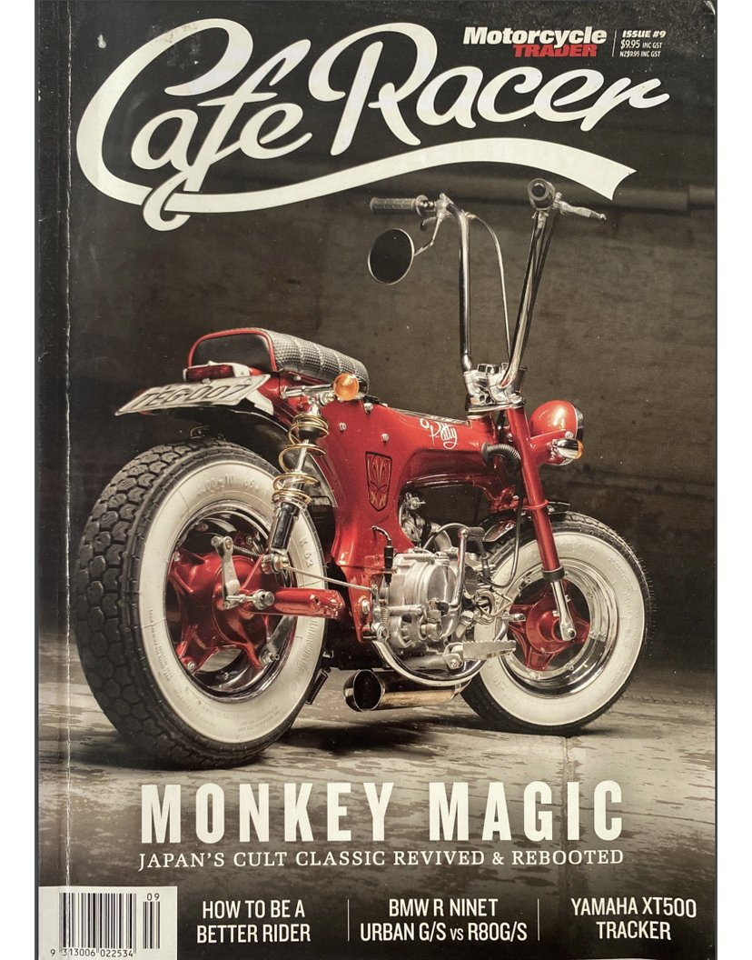 Cafe Racer Magazine PBM Feature