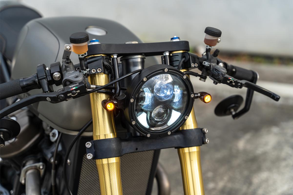 Honda CX500 Motorcycle Headlight