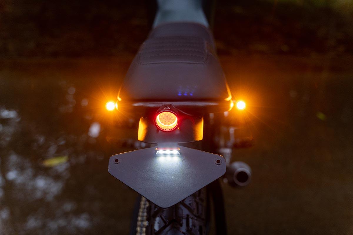 Custom Scrambler LED Tail Lights and Brake Lights