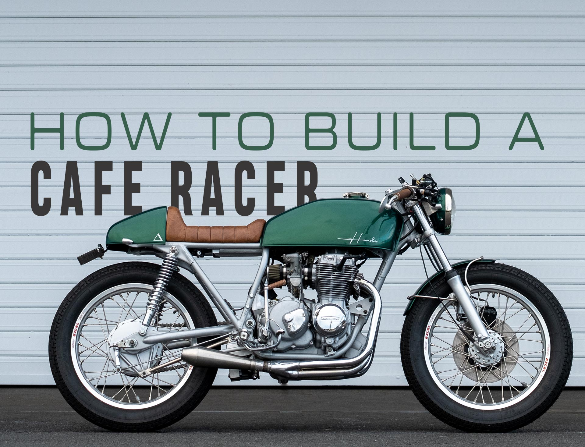How to build a cafe racer motorcycle