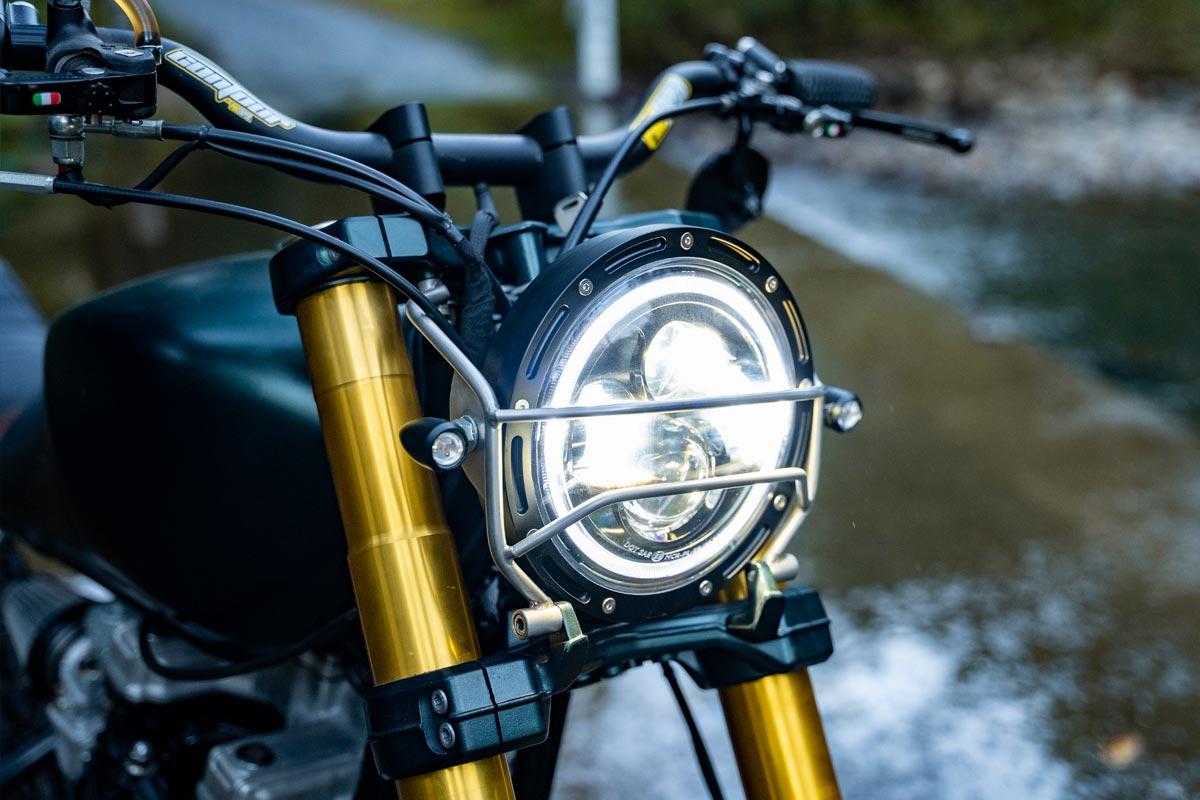Suzuki Scrambler Motorcycle LED Headlight
