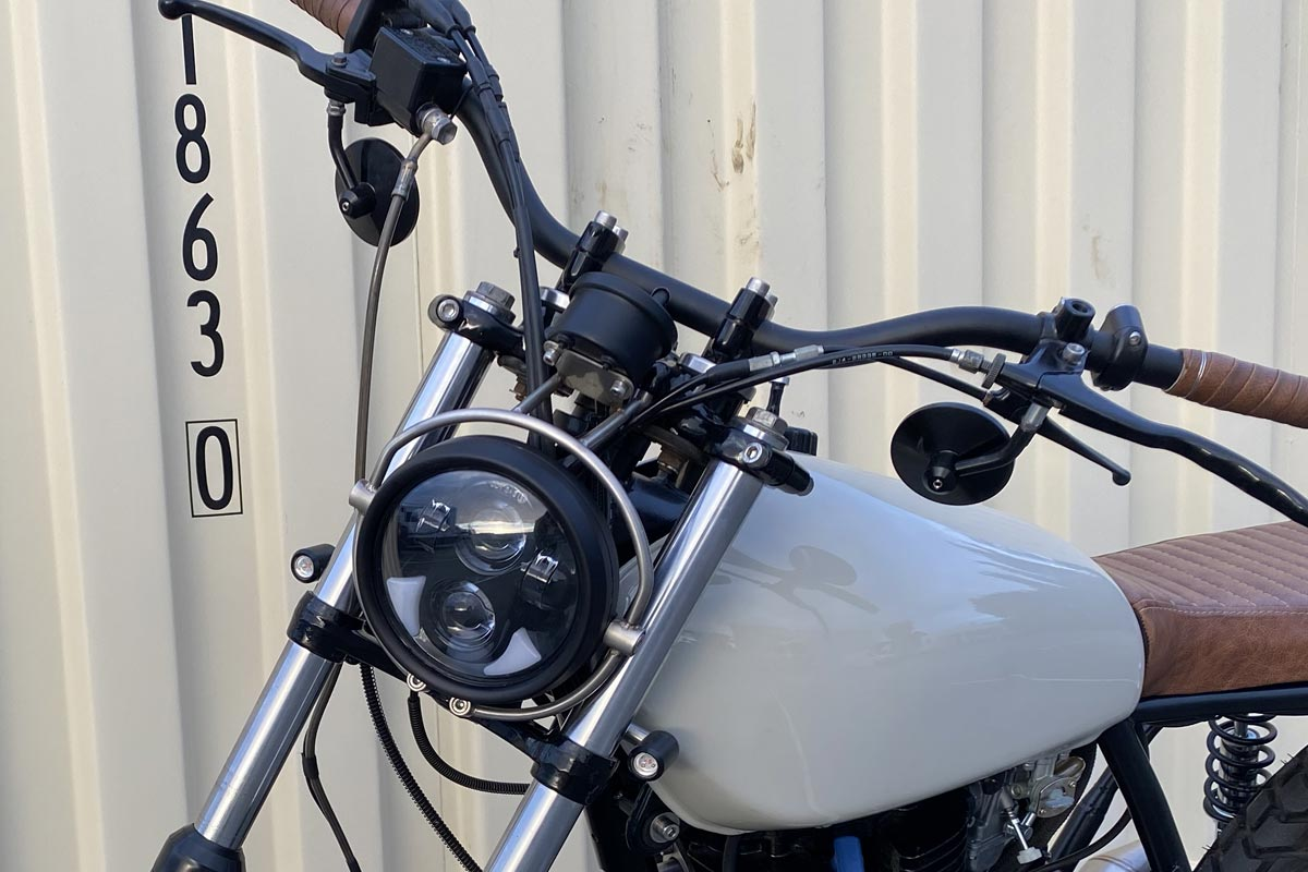 Yamaha SR500 Headlight