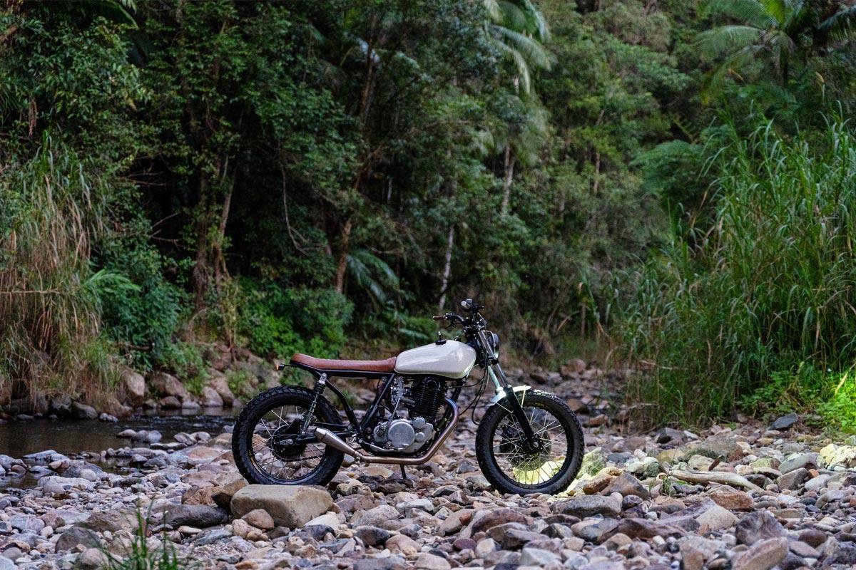 YamahaSR500 Custom Scrambler Motorcycle
