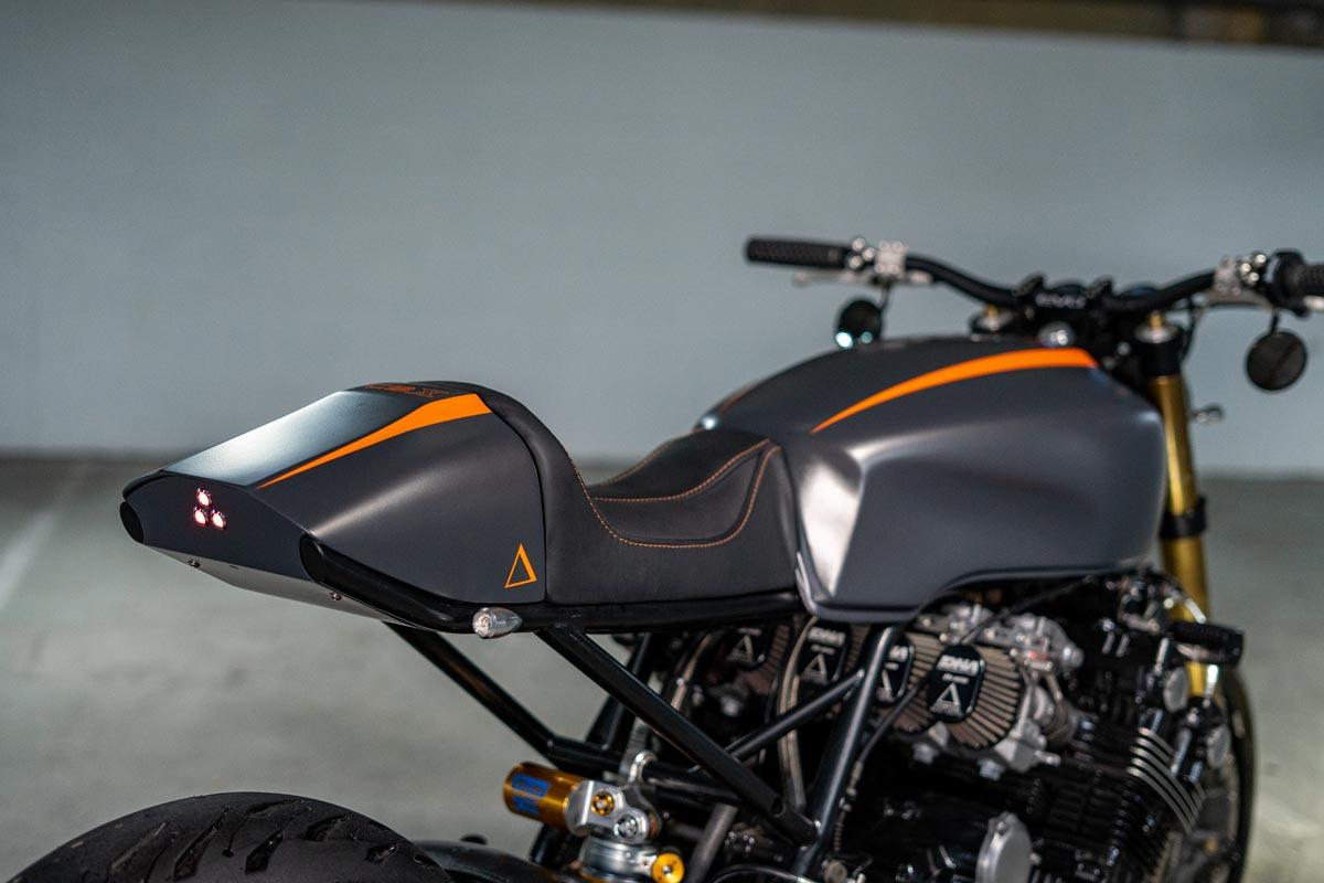 Honda CBX1000 Cafe Racer Custom Tail.