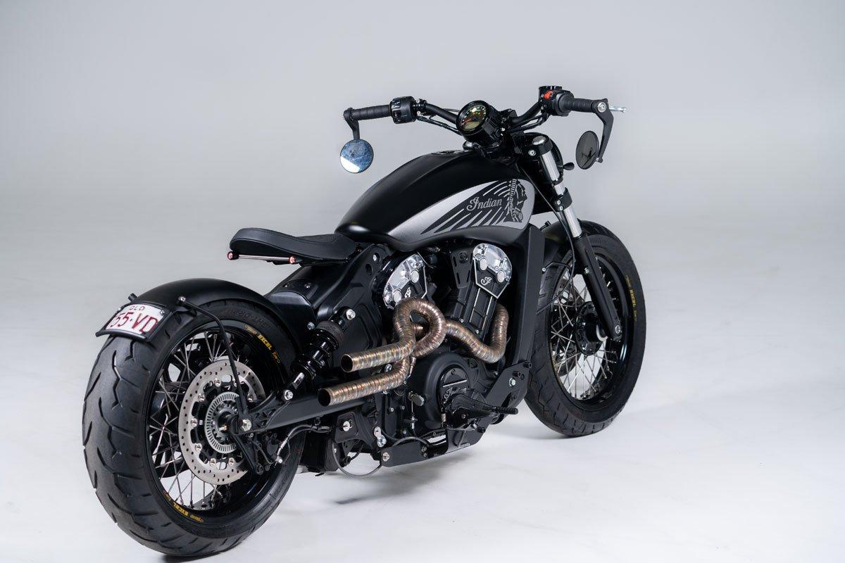 Bobber Motorcycle Custom Built in Gold Coast