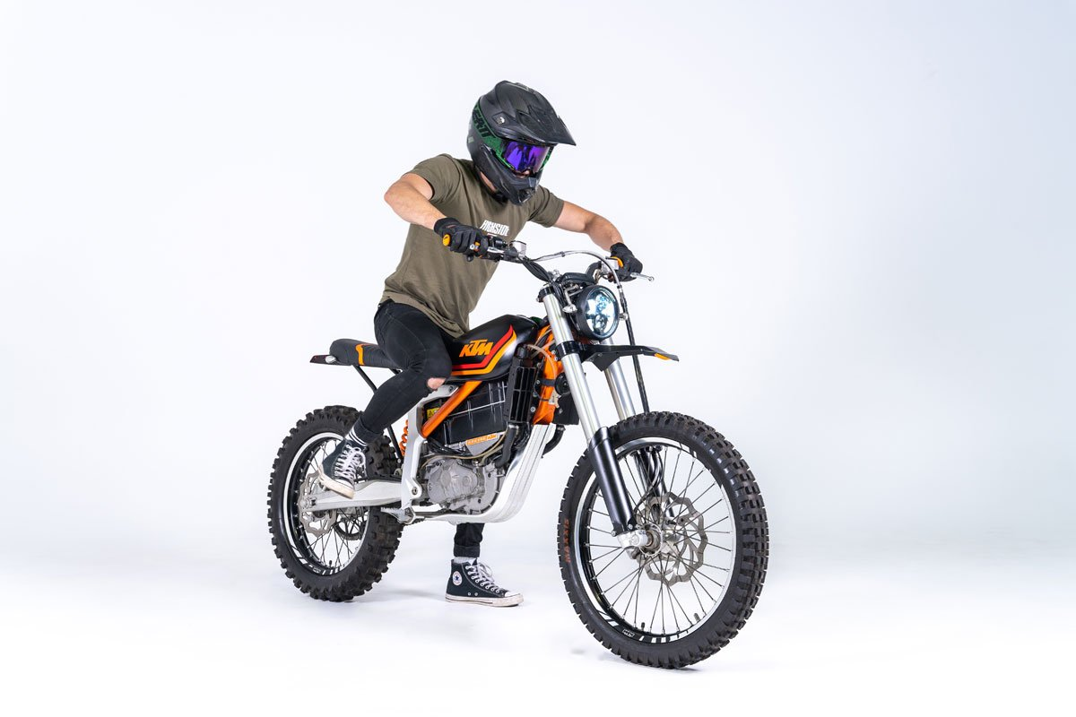 Dirt Bike Style Electric Motorcycle