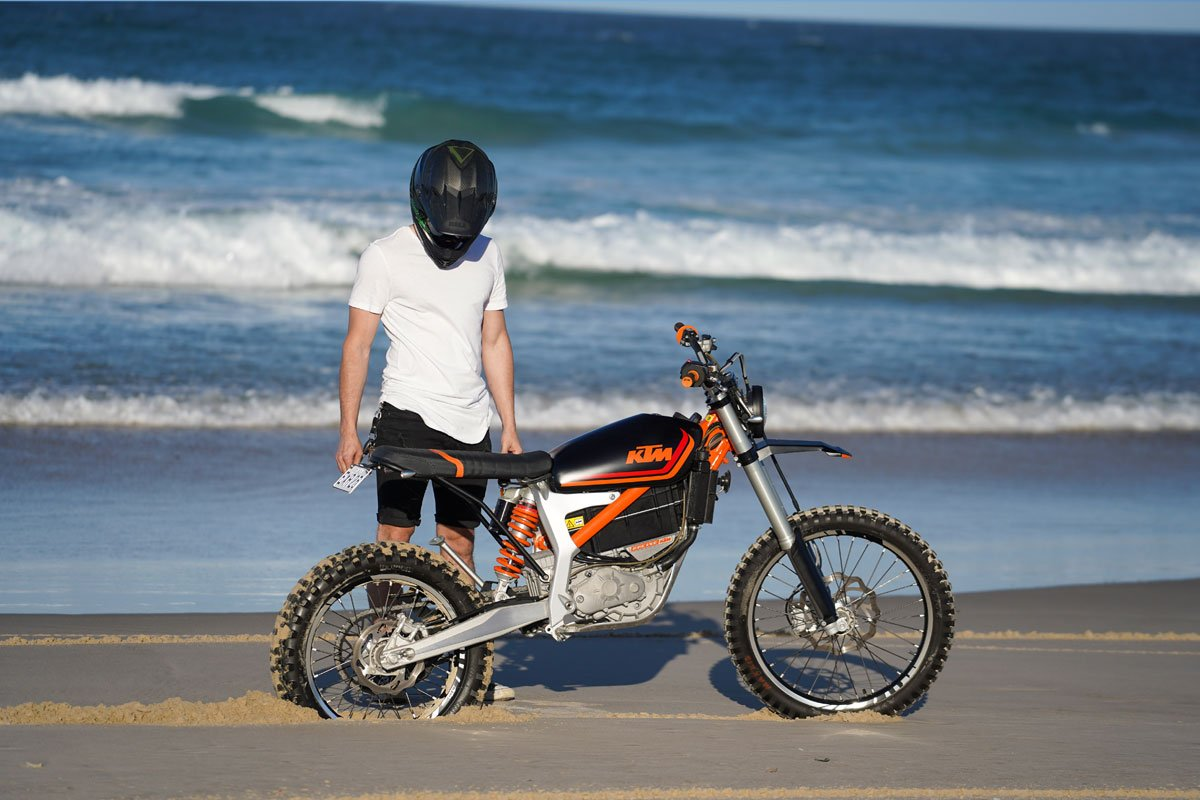 Electrical KTM Motorcycle