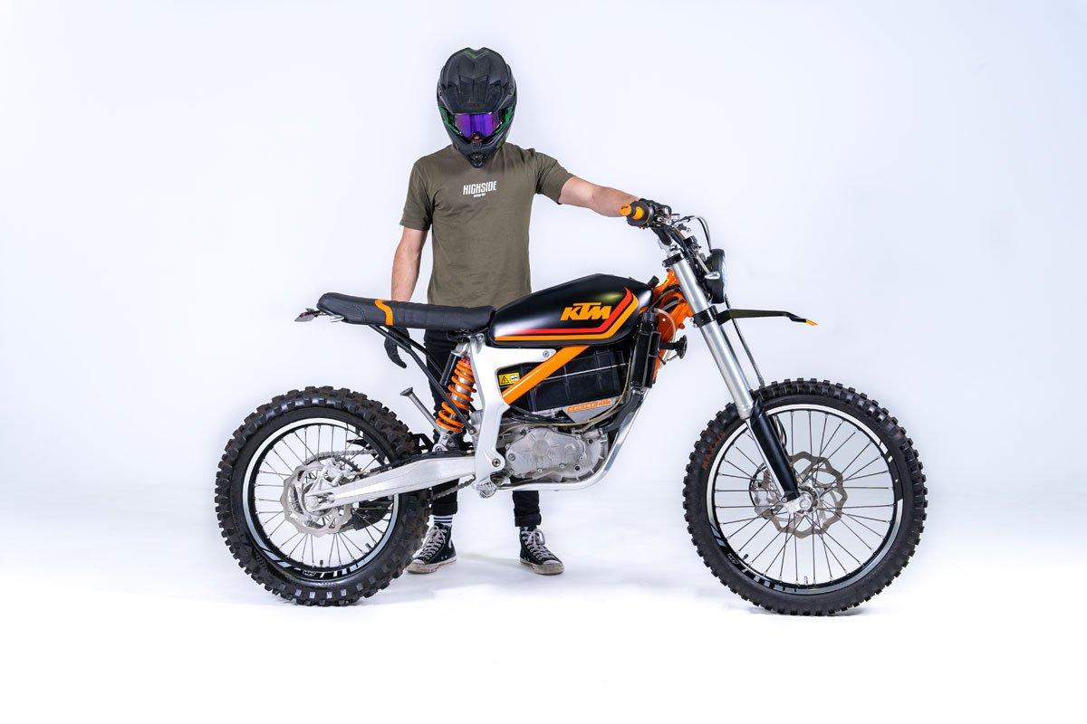 KTM Electric E-Scrambler Motorcycle