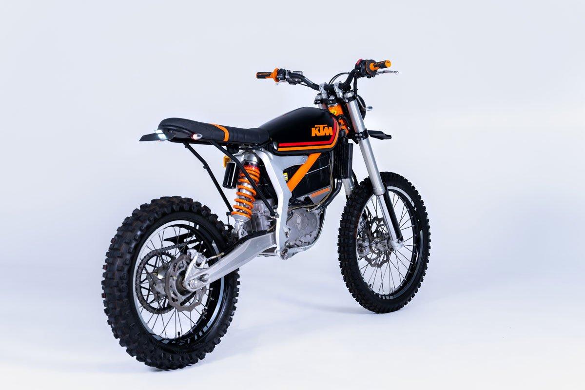 KTM Electric Motorcycle Scrambler