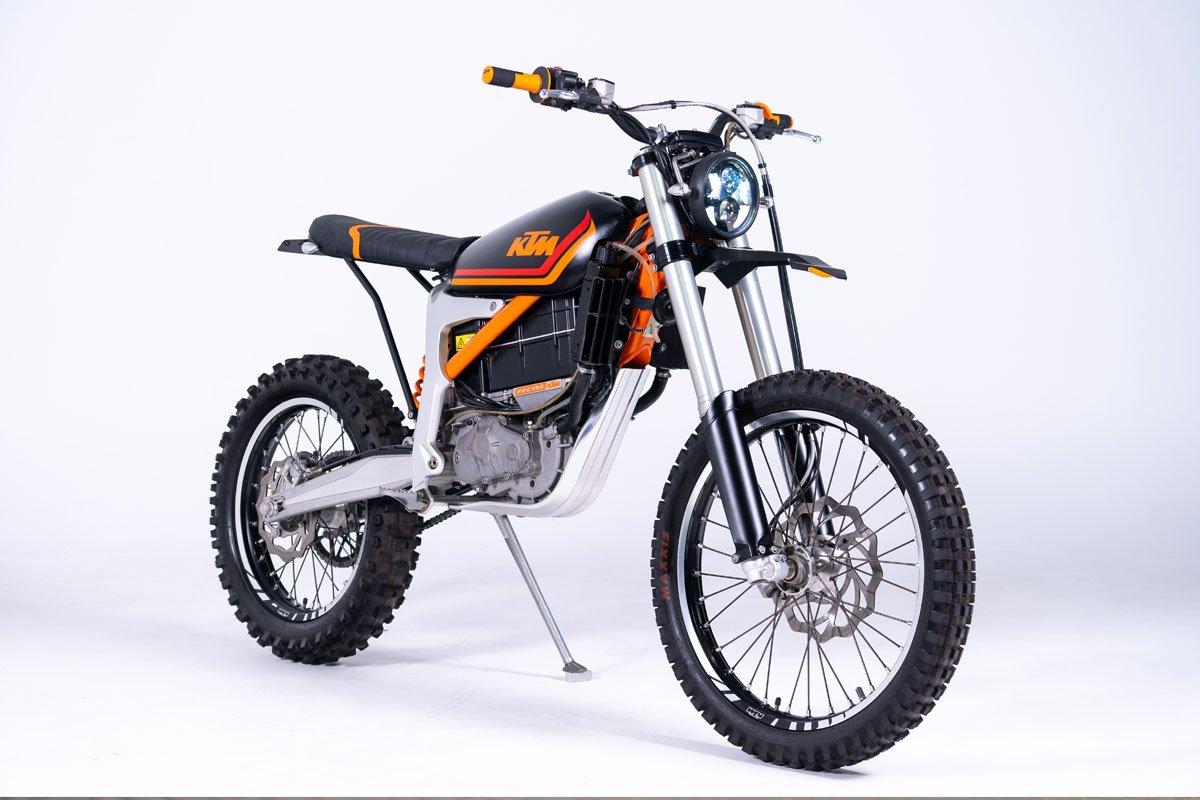 KTM e-Scrambler by Grid Cycles